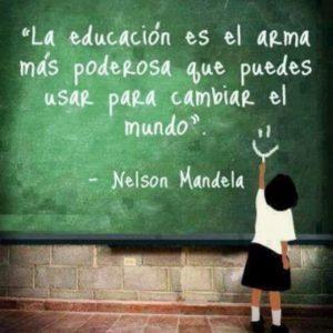 La educación como arma para un mejor futuro. Por: Moisés Hernández, 11mo año.